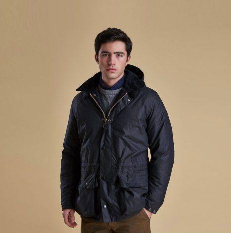 Veste Barbour Beattock Wax marine