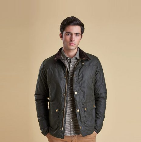Veste Barbour Reelin Wax Sage