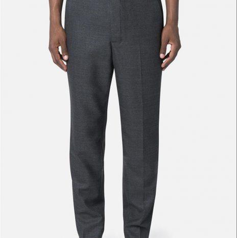 Pantalon carotte AMI gris