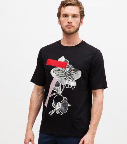 Tee-shirt Paul & Joe ORCHIDEE