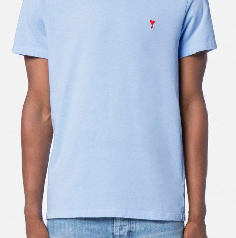 Tee-shirt Ami Coeur bleu ciel