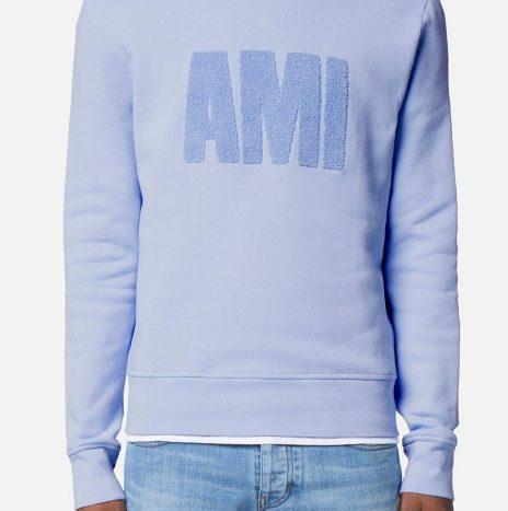 Sweat Big Ami bleu ciel