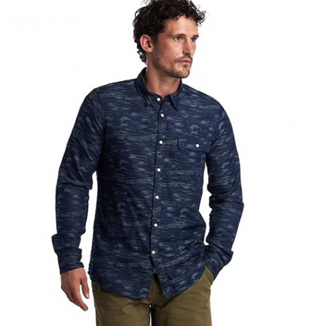Chemise Barbour Wave navy