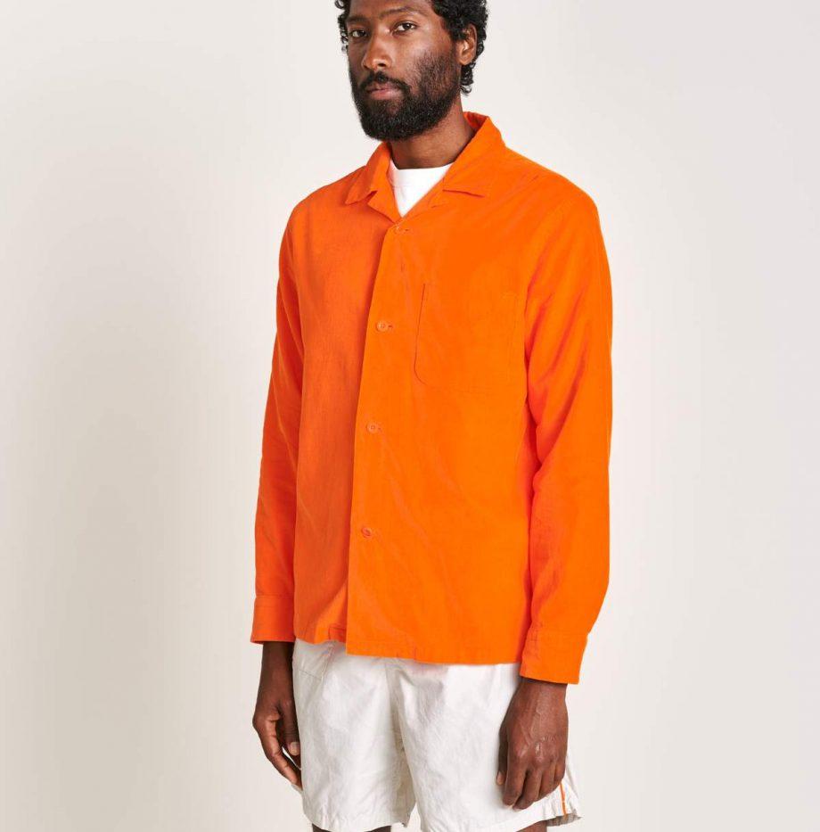Chemise Oversize Bellerose Goney orange