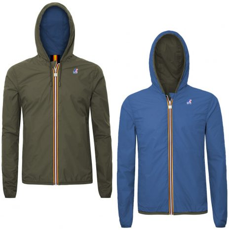 K-way Jacques Plus Double Marron et Bleu