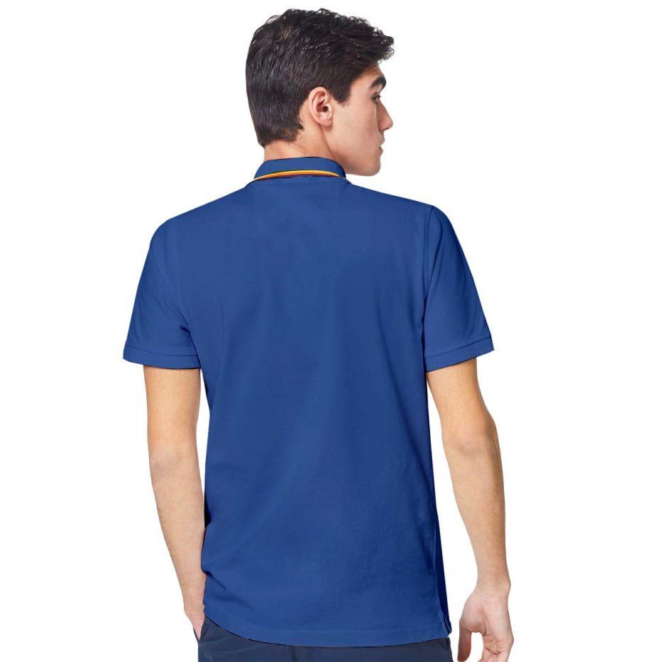 K-way Polo Jude Stripes Bleu