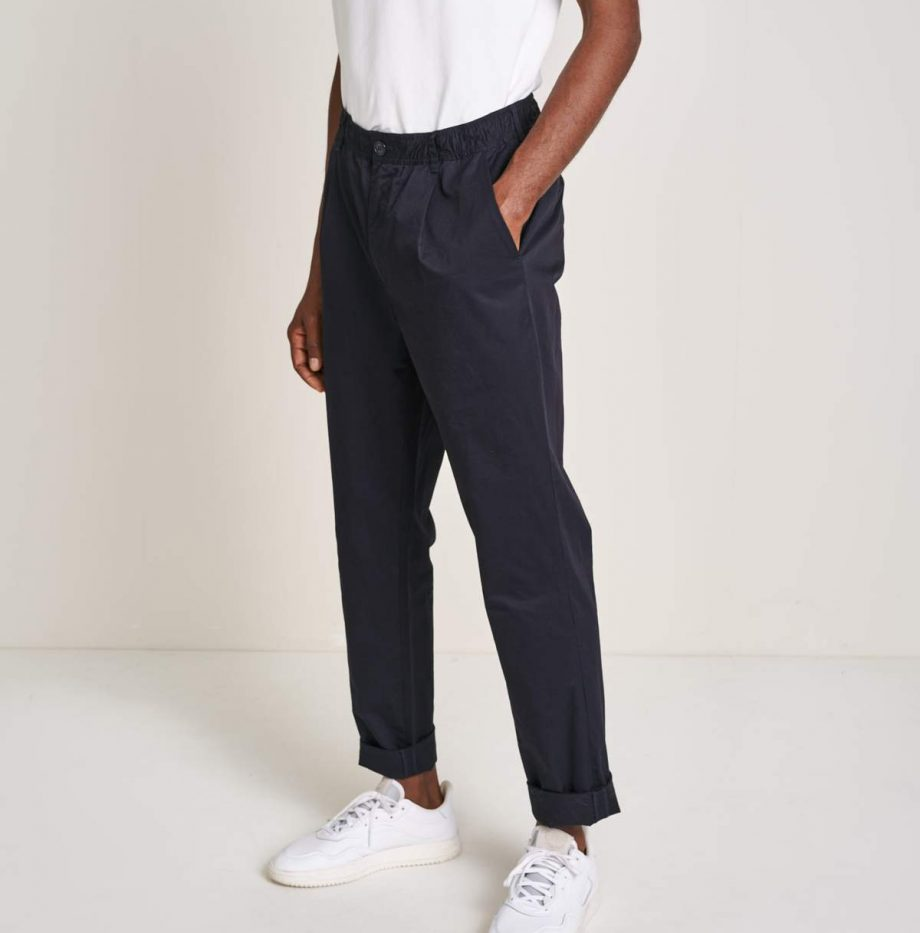 Pantalon Bellerose Jason Bleu Marine