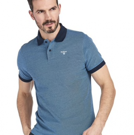 Polo Barbour Mix Navy