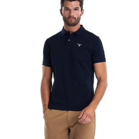 Polo Barbour Navy