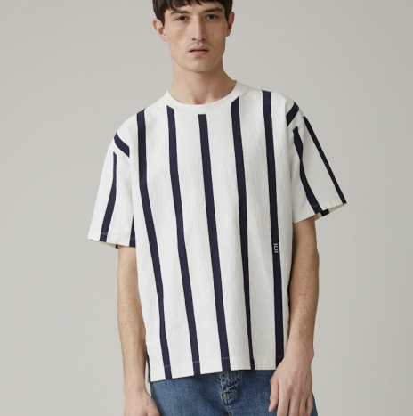 T-shirt Oversize Closed Rayé