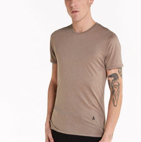 T-shirt Patrizia Pepe Jersey Dusty Beige