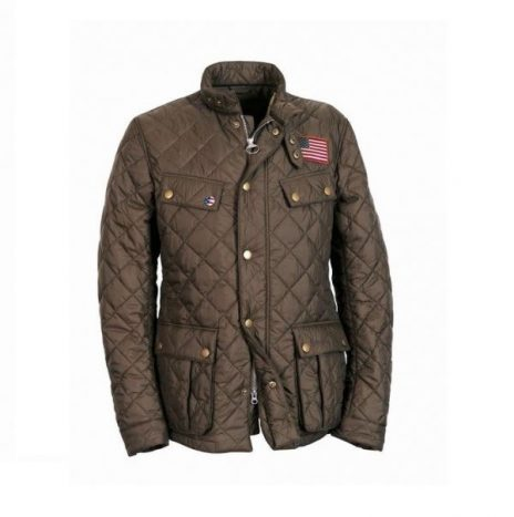 Veste Jeffries Barbour olive