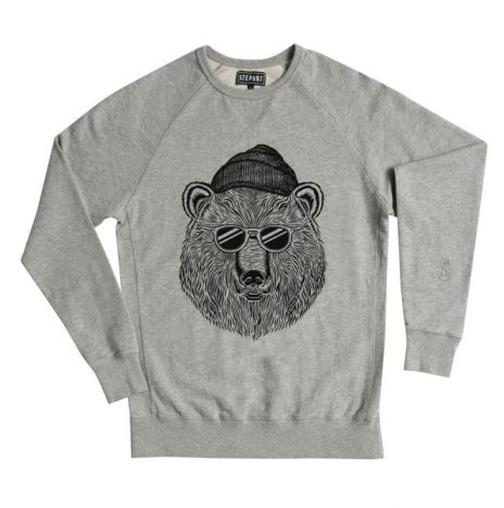 Sweats Bear & Sun StepArt H.Grey