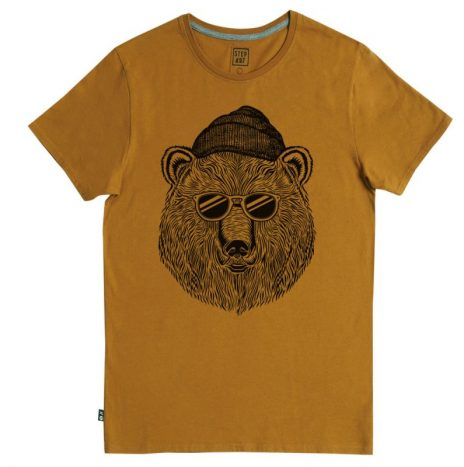 Tee-Shirt Bear & Sun StepArt Camel