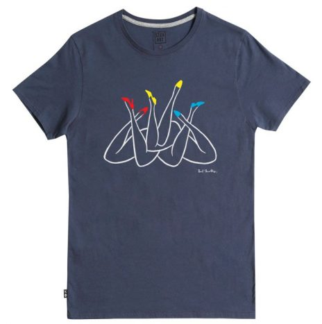 Tee-Shirt Legs Party StepArt Navy