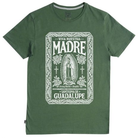Tee-Shirt Nuestra Madre StepArt Green Forest