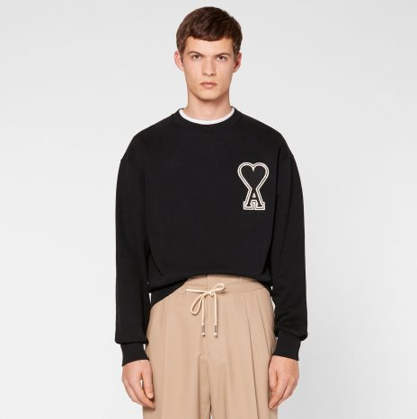 *Nouveauté* Sweatshirt Big Ami de coeur Noir